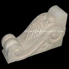 CBL-11: Bend Leaves Corbel