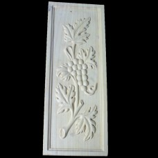PNL-03: Acorn and Leaf  Door Panel