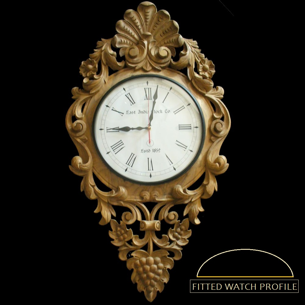 Wdc 10 royal architectural wall clock amipublicfo Image collections